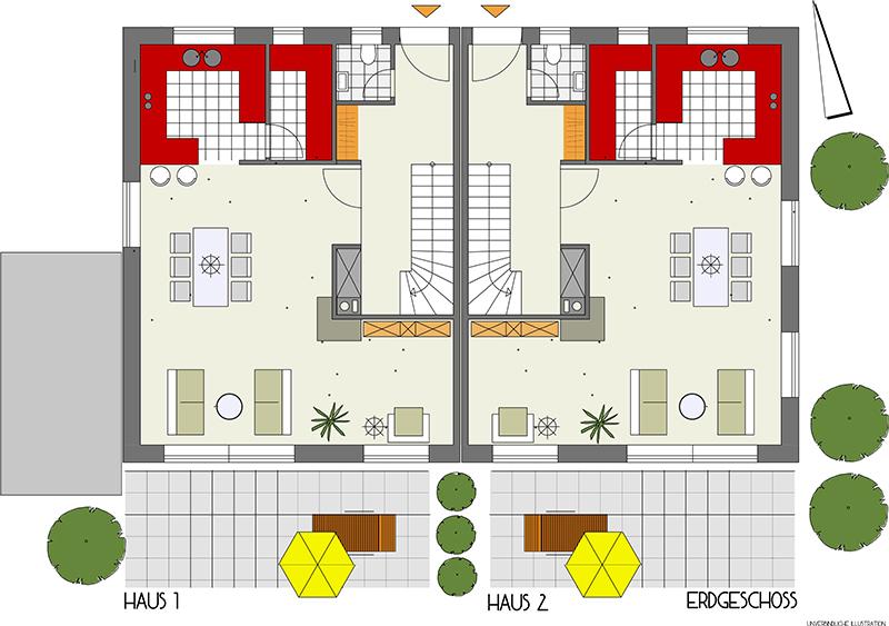 DH - Sindelfingen - Wohnbau MZ - Einfamilienhäuser, Doppelhäuser ...