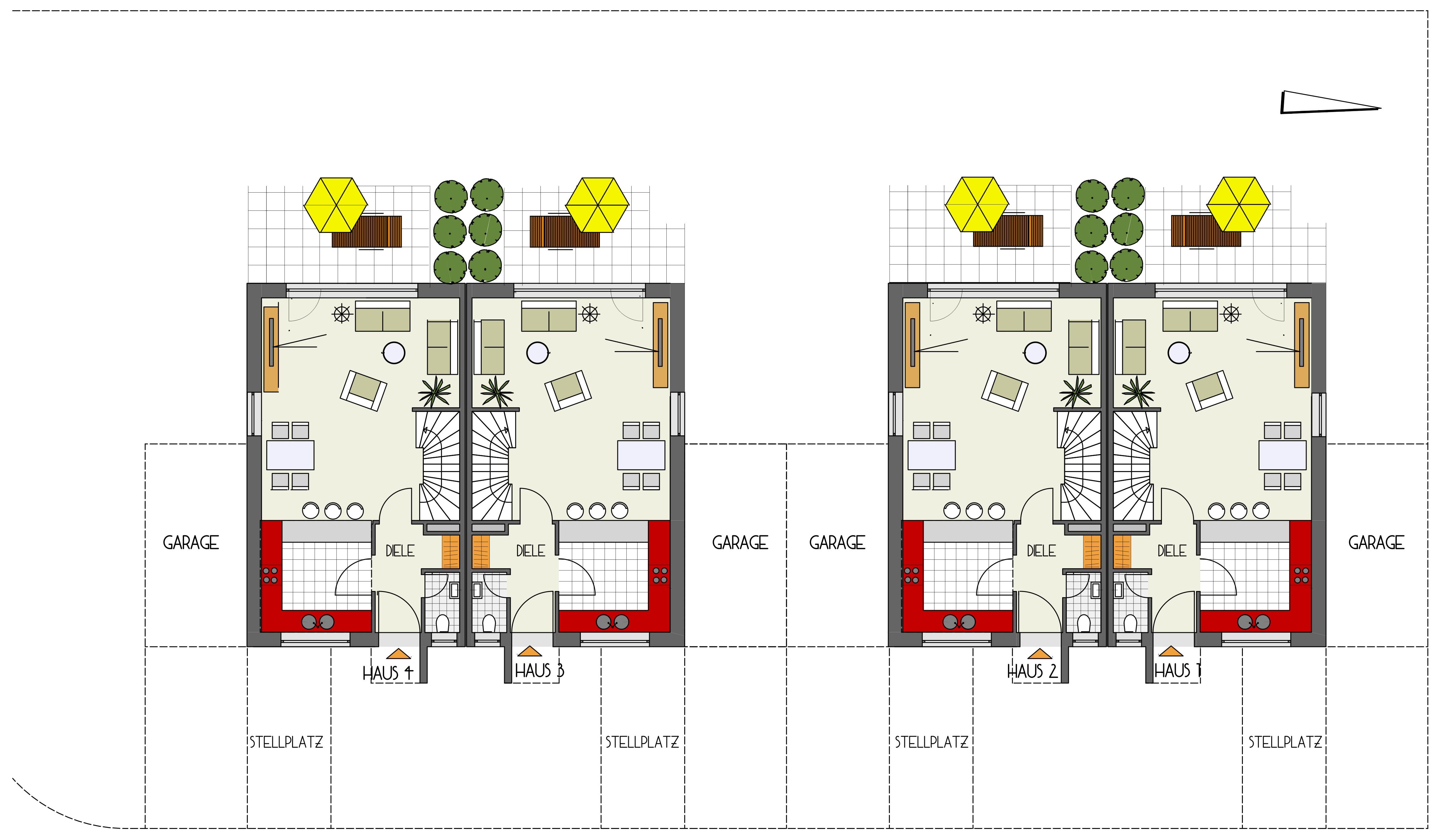 DH - Unterjettingen - Wohnbau MZ - Einfamilienhäuser, Doppelhäuser ...